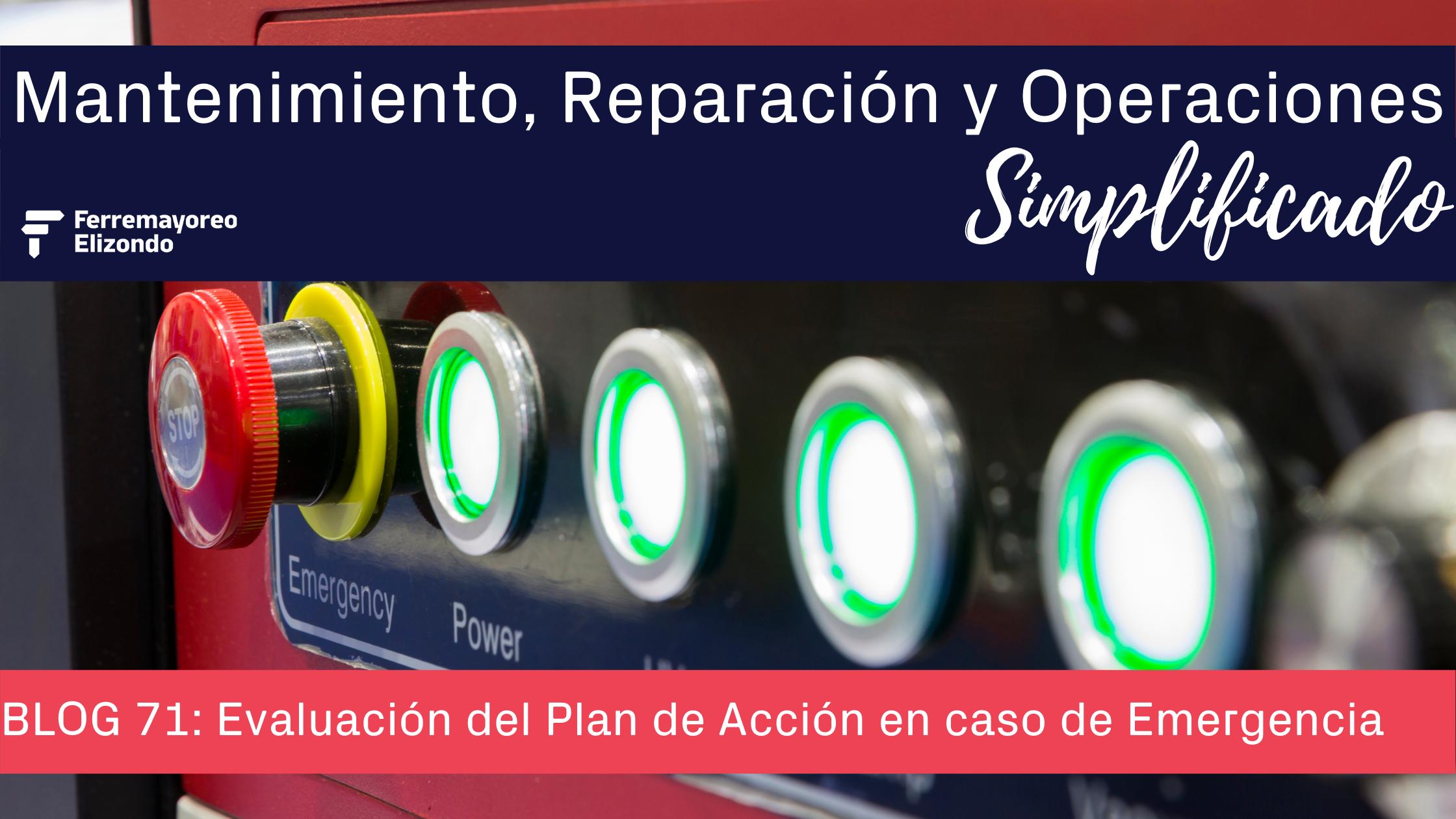 MRO Simplificado: Checklist para tu Plan de Acción Emergencias