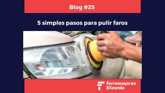 Elimina lo Opaco y Amarillo de los Faros de tu Automóvil