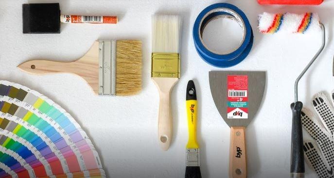 ¿Estás usando la brocha o rodillo correcto para tus trabajos de pintura?